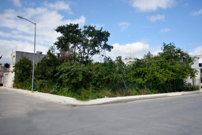 CORNER LOT IN A DEVELOPING ZONE OF THE CITY