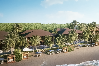 STATE OF THE ART BEACHFRONT VILLA IN THE HIGHEST END OF COMMUNITY  5B-4