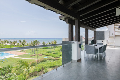 LUXURY SMART PENTHOUSE WITH THE BEST VIEWS TO THE CARIBBEAN SEA